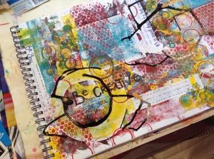 Cover for art journal