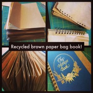 Brown paper bag book