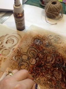 Stencil cirlces